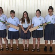 WHS cricket girls playing for Wanganui this week in Palmerston North, December 2017.