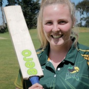 ALL ROUNDER: WHS's JESSICA WATKIN strides on the national cricket stage won her the WSS SPORTSWOMEN OF THE YEAR title, 26/10/16.