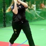 Jessica Watkin - NZ U18 Indoor Cricket team 2015.