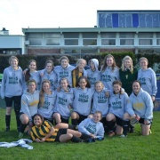 WHS 1st XI Girls Football WON 9-0, Hawera High School Sports Exchange, 10 August 2017.