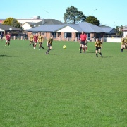 WHS 1st XI Boys Football won 3-0, Hawera High School Sports Exchange, 10 August 2017.