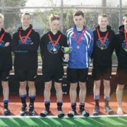 WHS boys who were part of the U15 Rep Hockey Team captained by WHS's Connor Hoskin WINNING the Tier 2 Nationals in Invercargill, 7/10/17.