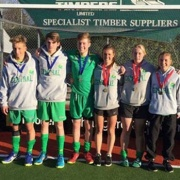 WELL DONE to the Central U18 Boys Hockey Team who won SILVER & Girls who won GOLD at the Nationals! Photo; Ryan Gray, Patrick Madder, Jordan Cohen, Emma Rainey, Joanna Bell & Rebecca Baker, July 2017.