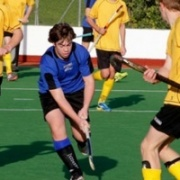 WHS student Jake Hooper finding his way through the defence in Wanganui U18 vs Wellington U18 at Gonville Domain.