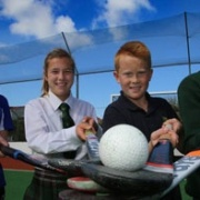Whanganui age group hockey captains (from left) Charlotte & Rebecca Baker, Blake & Connor Hoskin are on national duties for upcoming Whanganui age gp representative hockey team assignments, Chron 28/9/17.