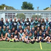 WHS & Wanganui Park Secondary School Jnr netball students from Shepparton, Melbourne, 21/11/17.