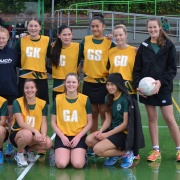 WHS Junior Girls Netball Team won at Central 6 in Palmerston North, 8 August 2017.