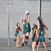 A1 Netball Team winners, Hutt Valley High School Sports Exchange, 14 June 2017.