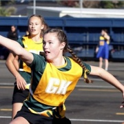 WHS Junior team winners of the Netball module at the inaugural Whanganui Youth Games, June 2017.