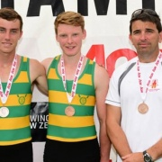 Matthew Wright & Nathan Luff - BRONZE medal winners at the Maadi Cup 2015.