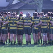 WHS 1st XV poised for a strong finish in the Manawatu Club Rugby Colts in Palmerston Nth, June 2015.