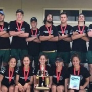 The VICTORIOUS WHS MIXED TOUCH TEAM with their 2ND NATIONAL SECONDARY SCHOOLS TITLE in TWO YEARS!!  WINNERS 2015 & 2016!!