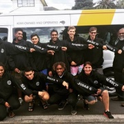 On the way to the NSS Volleyball Champs, Palmerston North, 26 > 31 March 2017.