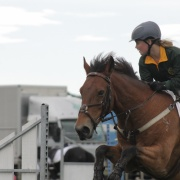 CONGRATULATIONS to Adelaide Hodges for coming 1st riding 'Rusty Nuts' n Bolts' in Accumulator (show jumping event) at Nga Tawa's 125th Anniv Show Jumping Tourn, March 2016.