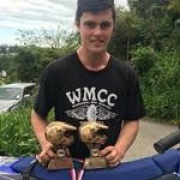 Seth Reardon (ex WHS) claimed the Central Enduro Champs under 300cc class, but missed the overall series win by a whisker; Chron 8/11/17.