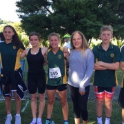 WHS Triathlon Team - NZ School Triathlon Champs held in Wanganui, 29-31 March 2017.