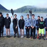 NZSS Multisport champs on 5 June, Rotorua. CAMBELL TANNER 3rd, U19 Snr. KATIE FOSTER 3rd, U14 Jnr & JACK CLIFTON, CAMERON RUSSELL & LUCAS THOMPSON 1st PLACE OVERALL in the Grass Roots 25km Multisport teams event, beating all age groups!