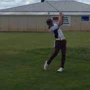 WHS student Fergus Smith - action shot.