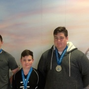 KASEY, Callaghan & KEIGHTLEY Watson with their Sydney medals. The Watson family has continued their success at Int Judo tourn's with a trio of medals, Sydney Open at Olympic Park, Chron 16/9/16.