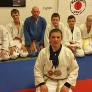 KASEY WATSON with the two SILVER medals & one BRONZE on his International debut, April 2015.