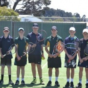 WHS & Wanganui Park Secondary School Tennis students from Shepparton, Melbourne, 21/11/17.