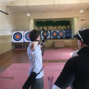 1st lesson at Kaitoke Hall, February 2017.