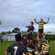 1st XV Rugby Team Hutt Valley High School Sports Exchange, 19/6/18.