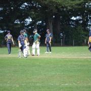 Interschool 1st XI Cricket : WHS v Wairarapa College, Victoria Park Wanganui 2/3/18.