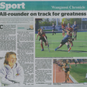 REBECCA BAKER 4th in Australian Cross Country Champs!! Wanganui Chronicle 30/8/18.
