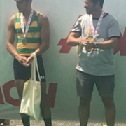 Levi Carroll U18 Single sculls BRONZE Medal, NISS Rowing Champs at Lake Karapiro, 2-4 March 2018.