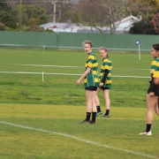 U15 Girls Rugby team 4th overall - Winter Tourn week in Levin, 3-7 September 2018.