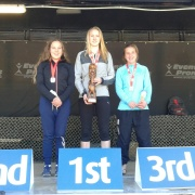 Tough Guy/Gal Competition: WHS 1st, 2nd & 3rd in the Female race, Wellington, 26/5/17.