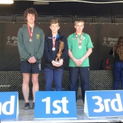 Tough Guy/Gal Competition: WHS 1st, 2nd & 4th Male 12 km & Travis Bayler defended his title WINNING the open men's for the second year in a row & is still only Y11! Wellington, 26/5/17.