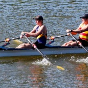 Former students Luke Watts & Jonty Thomson finished second in the Tonks Small Boat Race.  Students Zeah Brewer, Niamh Monk, Jaimee Bridger & Ella Dudley were third on the podium, Chronicle 16/10/18.