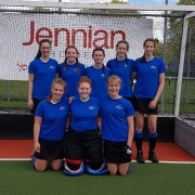 CONGRATS to the eight WHS students in the Whanganui U15 Hockey Team claiming SILVER at the National Champs in Carterton, Back L-R; Georgia Forrester, Rhiannon Clutterbuck, Baylie Hilbourne, Maggie Jones, Carys Pram. Front L-R; Olivia Smith (Captain), Kyla Manville, Charlotte Baker; 6/10/18.