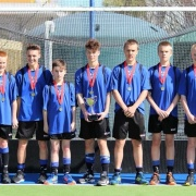 CONGRATS to the seven WHS students in the Whanganui U15 Hockey Team winning GOLD at the National Champs in Dunedin; L-R: Blake Hoskin, Charnce Tangiiau, Ben Skedgwell, Nathan Cohen, Max Burrack, Angus Dalgleish & Ryan Bayler, 6/10/18.