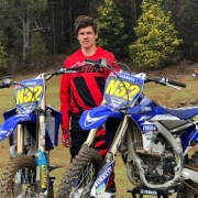 JAMES ROUNTREE came 10th (250cc 4 stroke class) & 13th (125cc class) at the Australian Junior Champs, Chron 9/10/18.