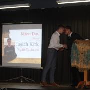 JOSIAH KIRK - WHS Māori Dux for 2018