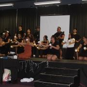Kia Whaiora performing, 2018 Māori Awards.