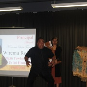 Wiremu Rogan - Kereoma Puru Taonga for Head of Māori male 2018