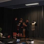 Nani Di was gifted a beautiful caped Korowai by the department. Presented by Heads of Māori; Leighton Kotuhi-Brown & Wiremu Rogan.