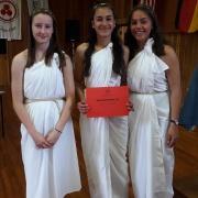 GREECE: Merit - Best Delegation - Maggie Jones, Cemre Gifford, Messina Su'a.