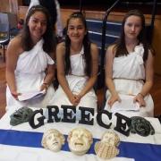 GREECE - Messina Su'a, Cemre Gifford, Maggie Jones.