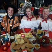 CHILE - Benjamin White, Eve Parker-Groves, Olivia Bedwell.