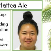 MATTEA ALE - Outstanding Contribution to Pasifika Junior Award