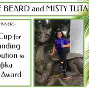 JASMIN BEARD - Outstanding Contribution to Pasifika Senior Award