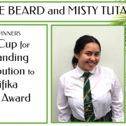 MISTY TUTAKI - Outstanding Contribution to Pasifika Senior Award
