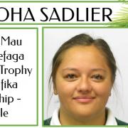 MAIOHA SADLIER - Pasifika Leadership Female