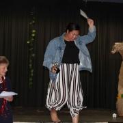 MATTEA ALE accepting Outstanding Contribution to Pasifika - Junior