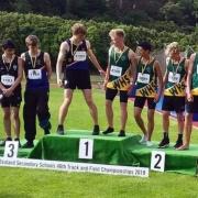 SENIOR BOYS 4x400m relay team - SILVER & SENIOR BOYS 4x100m relay team - BRONZE!